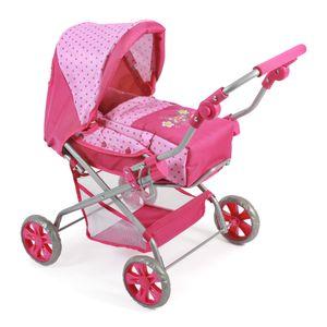 "Bayer Chic 2000 Kombi-Puppenwagen ""PICCOLINA"" - Farbe: Dos Pink; 557 31"