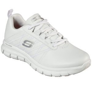 Skechers Womens Work SURE TRACK ERATH - II Sneakers Damen Schuhe Weiß, Schuhgröße:39 EU