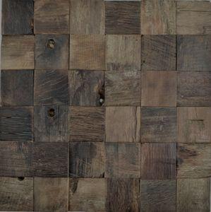 Holz Mosaik boot Old Wood HolzMosaikfliese Wand Fliesenspiegel Küche Bad