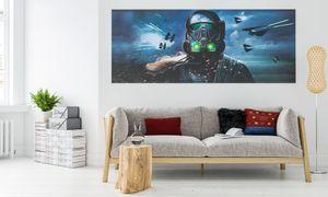"""Komar Digitaldruck Vliestapete """"Star Wars Deathtrooper"""", bunt, 250 x 100 cm"""