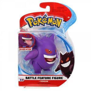 Auswahl Battle Feature Figuren | Pokemon | bewegliche Deluxe Action Figur, Spielfigur:Gengar