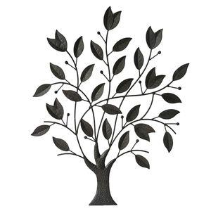 Wanddekoration Baum Metall Rankgitter Wandschmuck Fassadendeko Wanddeko Fassade Wandtattoo