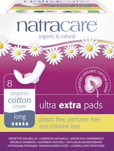 Natracare - Ultra  Extra Damenbinden Lang - 8St