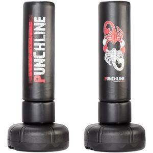 Punchline XXL Standboxsack mit 1,95m Gesamthöhe - powered by MAXXUS. Boxtraining, Fitnessboxen, Boxsack