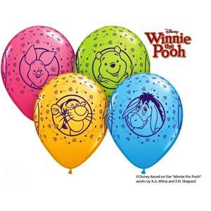 10 Luftballons Winnie Pooh 26cm