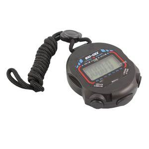 Digital Sport LCD Stoppuhr RunningTimer Z?hler Chronograph Uhr Geschenk Sto X2J0