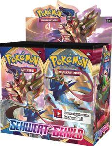 Pokemon Sammelkartenspiel: Display - Schwert & Schild 1: Schwert & Schild