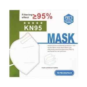 100 Stück  LESVTU KN95 Mund Staubschutzmaske,  FFP2 Maske,  Atemschutzmaske Schutzmaske PM2.5  95% Filtration Maske