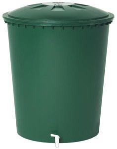 Regentonne rund 510 Liter grün GARANTIA 500214