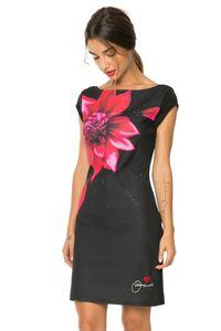 Desigual Damen Etui Kleid Partykleid Isla Rep, Größe:M