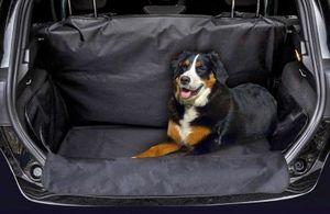 Kofferraummatte Stoßstangenschutz Schutzmatte universal schwarz pflegeleicht