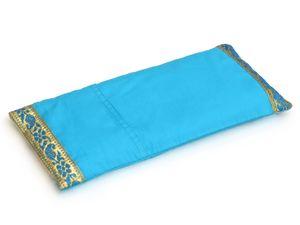 Augenkissen lakshmi's choice turquoise gold