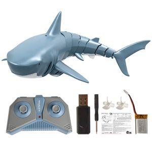 RC Boot Mini RC Shark Fernbedienung Spielzeug Schwimmspielzeug Unterwasser RC Boot Elektro Rennboot Parodie Spielzeug Pool