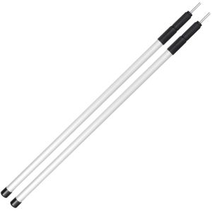noorsk® 2 Zeltstangen | Verstellbare Aufstellstangen aus Aluminium - 80-180 cm