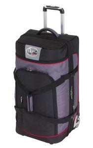 Reisetasche mit 2 Rollen Reisetrolley OutBAG 125L 85x40x40cm Trolley 4,5kg grau