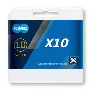 KMC X10 Kette 10-fach grey Ausführung 114 Links