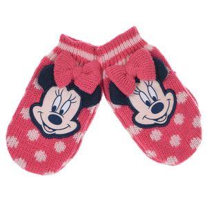 Disney Minnie Mouse Handschuhe Winter Fäustlinge pink  98/110 (3-5 Jahre)