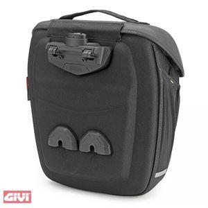 GiVi METRO-T Easy Lock Packtasche schwarz (1 Stück) für TMT Träger / 18 Liter Volumen / Max. Zuladung 4 kg