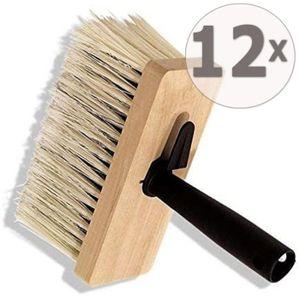 12 x Ciret Deckenbürste Holzkörper 170x70mm