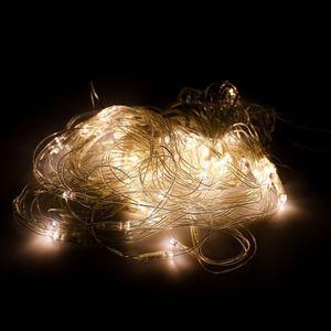 4x6M 880 LED Warmweiß Lichternetz Weihnachten Lichterkette Außen Licht Beleuchte Warmweiß
