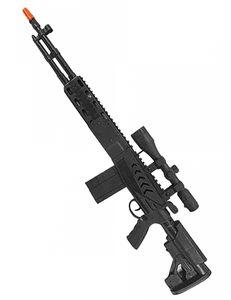 Spielzeug-Gewehr für Kinder Accessoires schwarz 71 cm
