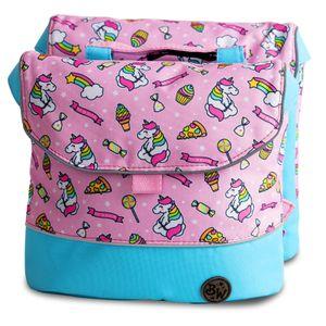 BAMBINIWELT Gepäcktasche, Gepäckträgertasche für Fahrrad, Fahrradtasche für Kinder, wasserabweisend, Modell 20