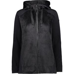 CMP Damen Double Jersey Jacke mit Kapuze