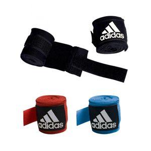 Abverkauf Adidas BOXBANDAGE Boxing Crepe halbelastisch 4,5 m - Farbe: blau