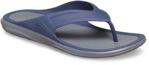 Crocs Swiftwater Wave Flip Sandalen Herren navy/slate grey Schuhgröße EU 45-46