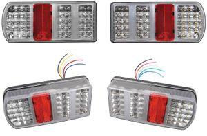 2x LED Rückleuchten R und L 12V 5 Funktion Heckleuchte Rücklicht Anhänger LKW
