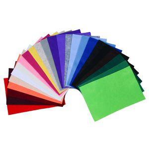 24 Bastelfilz Bögen flex DIN A4, ca. 1,5 180-200g/m² Filzplatte farbig sortiert, Variante:Variante 1