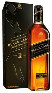 Johnnie Walker Black Label 12 Jahre in Geschenkpackung Blended Scotch Whisky | 40 % vol | 0,7 l