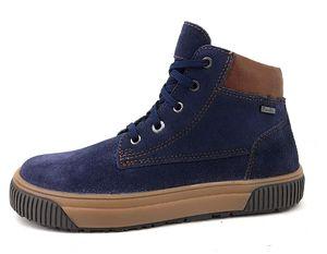 Richter  Kinderschuhe Burschen Stiefel Winterstiefel Blau, Schuhgröße:EUR 38