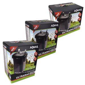 Aquael ULTRAMAX Außenfilter 1000/1500/2000 Kanisterfilter Eingebauter Vorfilter, Größe:ULTRAMAX 1500