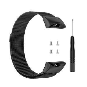 Armband Armbandgürtel Armbandgürtel mit Werkzeug in Schwarz für Garmin Forerunner 45 / Forerunner 45S / Swim2 Uhr