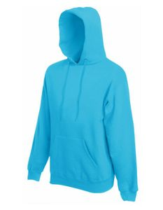 Classic Hooded Sweat - Farbe: Azure Blue - Größe: XXL