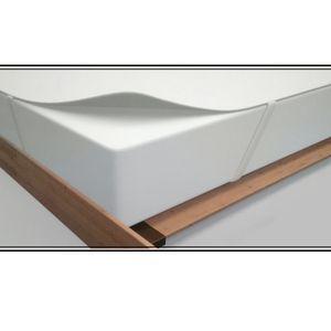 Molton Matratzenauflage (150x200 cm) Weiß Matratzenschoner Matratzenschutz Auflage Inkontinenz