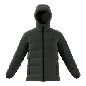 Adidas Helionic Hooded Jacket - Daunenjacke, Größe_Bekleidung:XL, Adidas_Farbe:legend earth