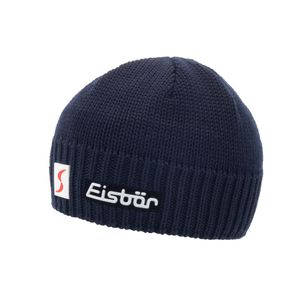 Wintermütze Eisbär Trop MÜ XL SP für Damen und Herren, Farbe:Dunkelblau