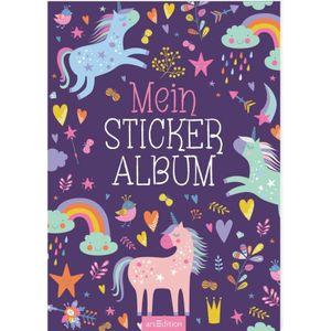 ars Edition Mein Stickeralbum -Einhörner