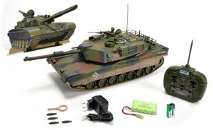 Carson Hobby Engine Panzer M1 A2 Abrams 100% RTR 27MHz