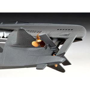 Revell 05078 1:144 U-Boot Typ XXI U 2540 & Interieur