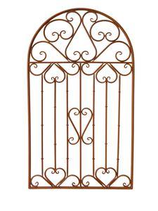 Garden Pleasure Wand Dekor TARVOS Metall Rost-Optik 507262