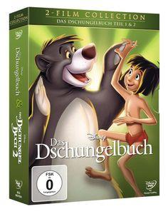 Das Dschungelbuch 1+2, Doppelpack DVD