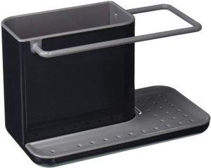 Spülbecken Organizer aus Weizenstroh – Abtropfbehälter - Schwammhalter - Ordnungshelfer Spülbecken – Utensilienhalter Küche – Küchen Organizer,20 x 13,5 x 11,5 cm
