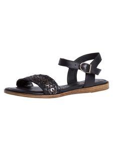 Tamaris Damen Sandale schwarz 1-1-28136-26 weit Größe: 40 EU