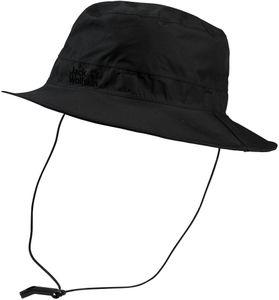 Jack Wolfskin Texapore Ecosphere Regen Hut black Größe L