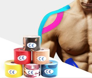 6 x Elastisches Kinesiologielogie Tape Sport Kinesiologielogy Physiotape Tapes 5cm 5m