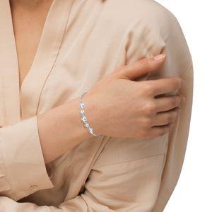 Amor Schmuck Armband für Damen, Sterling Silber 925, Zirkonia