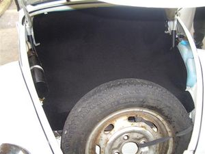 Kofferraummatte /Teppich Abdeckung passend für VW Mexico Käfer